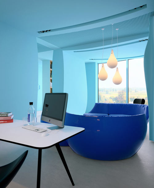azure office cabin
