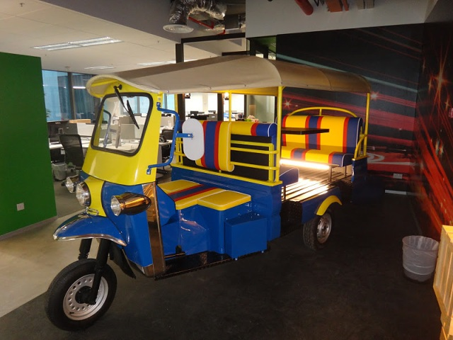 Google-Singapore-Office-rickshaw